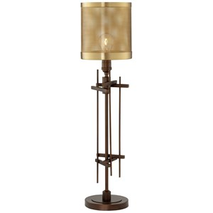 Pacific Coast Lighting Table Lamps Steel Collage Table Lamp