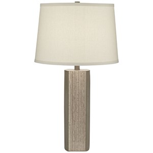 Pacific Coast Lighting Table Lamps Cement And Faux Agate Table Lamp