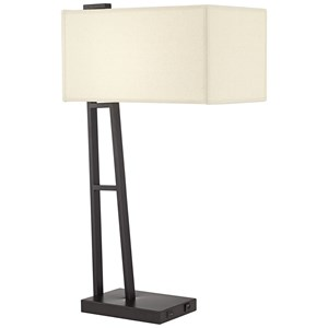 Pacific Coast Lighting Table Lamps Metal With Usb Lamp