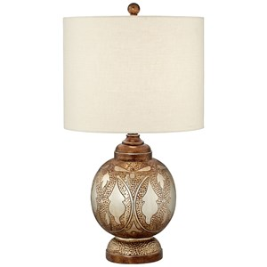 Pacific Coast Lighting Table Lamps Moroccan Lamp Silver And Bronze