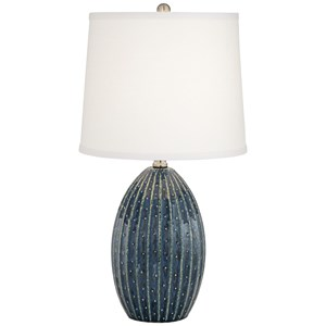 Pacific Coast Lighting Table Lamps Ceramic Watermelon Lamp