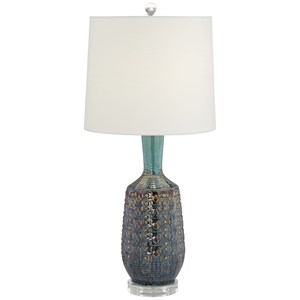 Pacific Coast Lighting Table Lamps Bohemian Ceramic Lamp