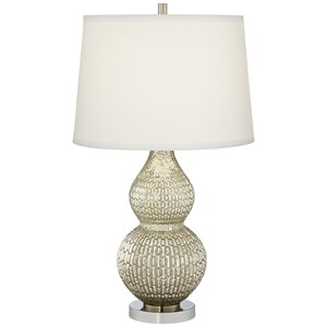 Pacific Coast Lighting Table Lamps Silver Mercury Lamp