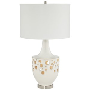 Pacific Coast Lighting Table Lamps  Ceramic Sandabber Lamp