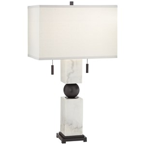 Pacific Coast Lighting Table Lamps Marble & Metal Lamp