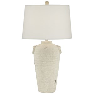 Pacific Coast Lighting Table Lamps The Vineyard Table Lamp-Beige Almond