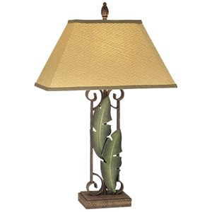 Pacific Coast Lighting Table Lamps Banana Leaves Table Lamp