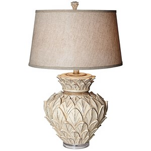 Pacific Coast Lighting Table Lamps Artichoke W/Acrylic Base Table Lamp