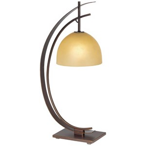 Pacific Coast Lighting Table Lamps Kathy Ireland Orbit Table Lamp-Bronze