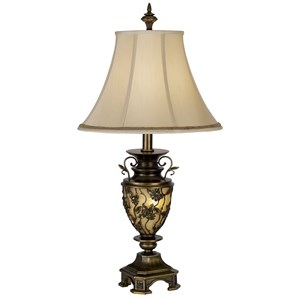 Pacific Coast Lighting Table Lamps Kif Southern Dogwood Table Lamp