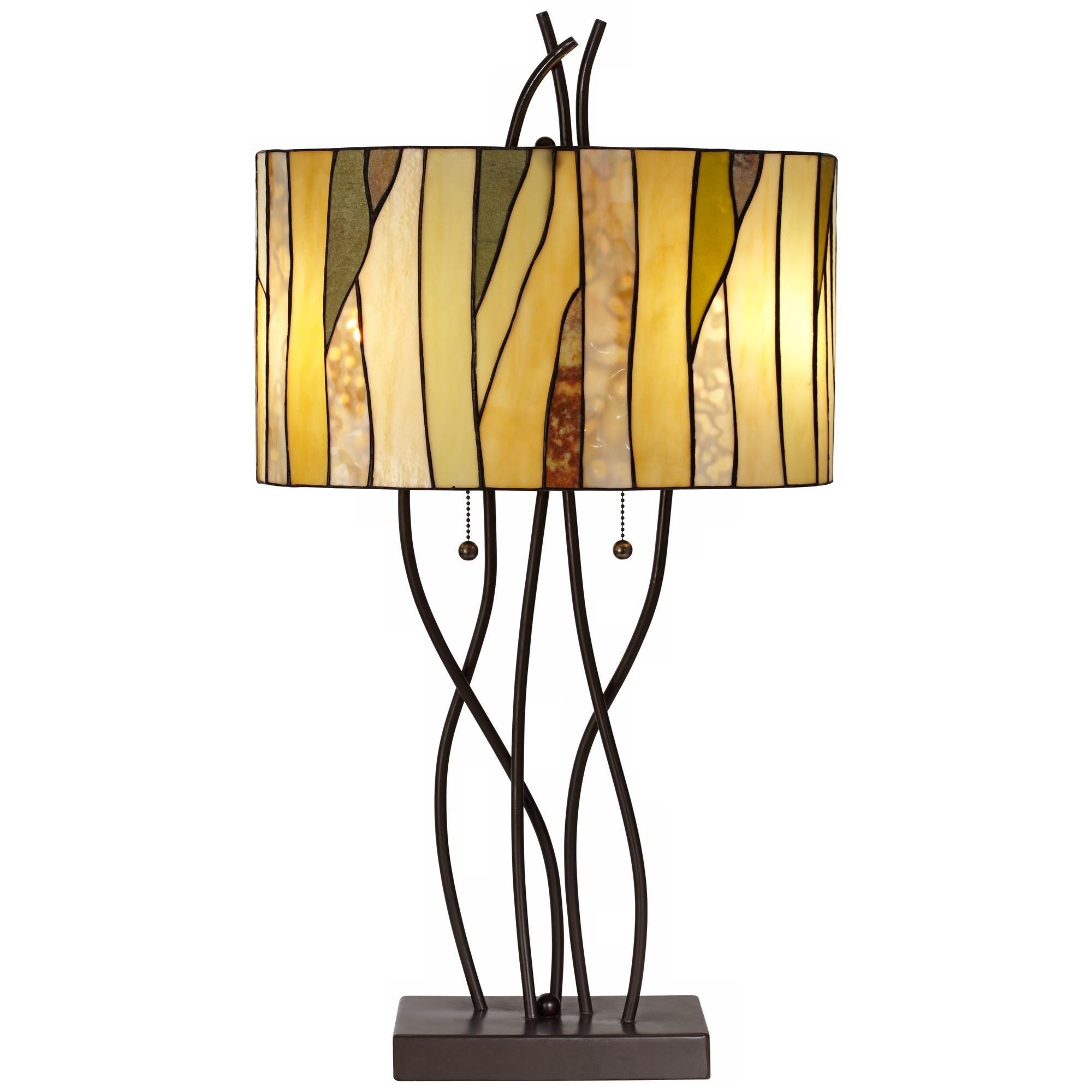 Pacific Coast Lighting Table Lamps Oak Vine Table Lamp