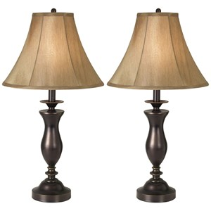 Pacific Coast Lighting Table Lamps 2Pk New England Village Table Lamp