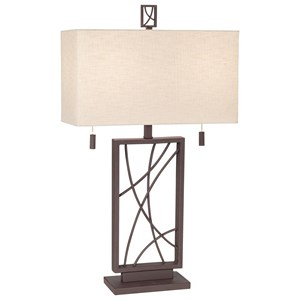 Pacific Coast Lighting Table Lamps Crossroads Table Lamp