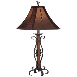 Pacific Coast Lighting Table Lamps El Paso Table Lamp