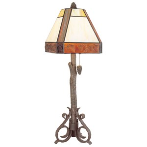 Pacific Coast Lighting Table Lamps Sunset Woods Table Lamp