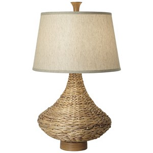 Pacific Coast Lighting Table Lamps Seagrass Bay Table Lamp