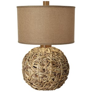 Pacific Coast Lighting Table Lamps Seagrass Meadow Table Lamp