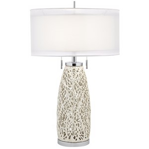 Pacific Coast Lighting Table Lamps Seaspray Table Lamp - Chrome