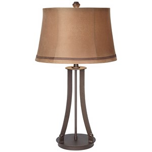 Pacific Coast Lighting Table Lamps Hammered Metal Table Lamp