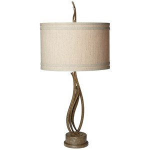 Pacific Coast Lighting Table Lamps Passionate Vines Collection Table Lamp