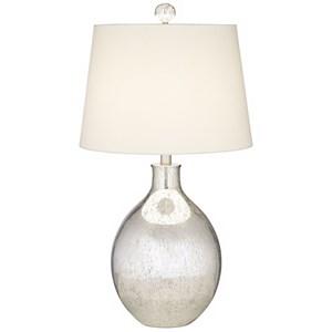 Mercury Oval Table Lamp