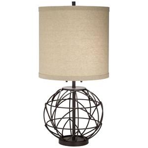 Alloy Globe Table Lamp