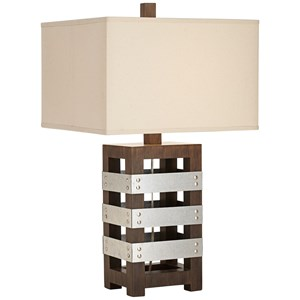 Pacific Coast Lighting Table Lamps Crate Table Lamp