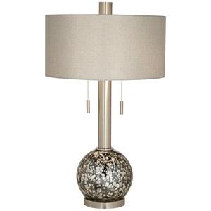 Pacific Coast Lighting Table Lamps B. Steel Ant Mercury Table Lamp