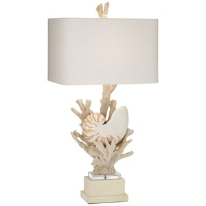 Ki Nautilus Natural Table Lamp