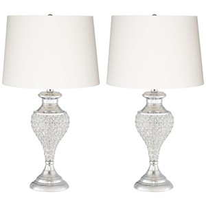 2Pk Glitz And Glam Table Lamps