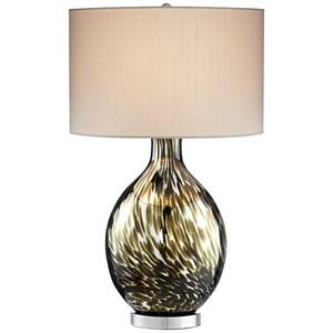 Pacific Coast Lighting Table Lamps Keturah Brown Table Lamp