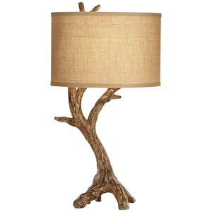 Pacific Coast Lighting Table Lamps Beachwood Table Lamp