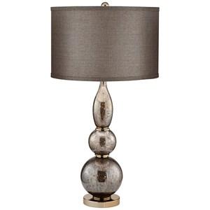 Ant. Copper Mercury Table Lamp