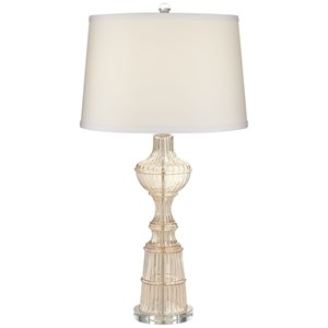 Pacific Coast Lighting Table Lamps Champagne Glass Traditional Lamp