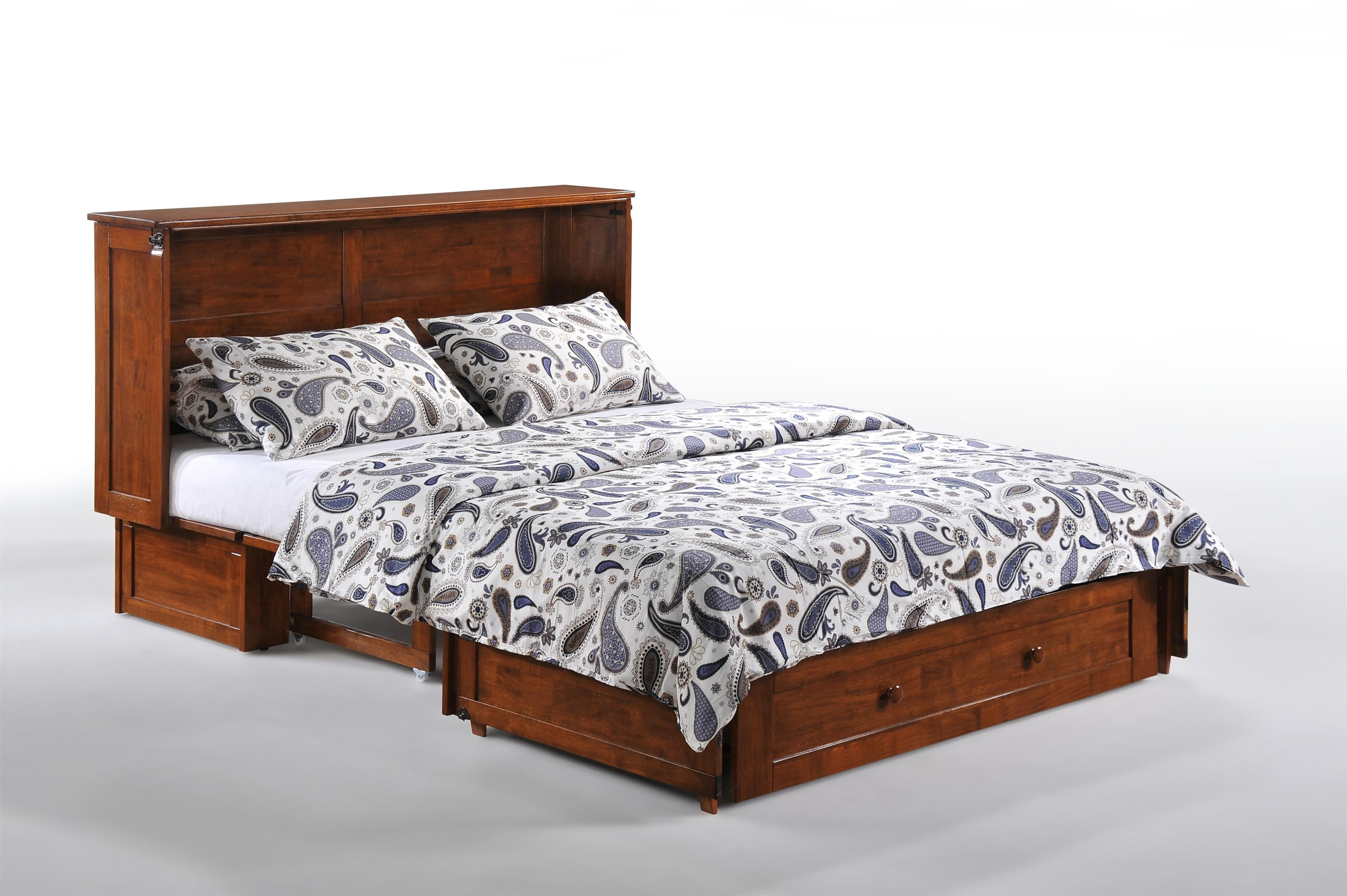 Pacific Manufacturing Murphy Chest Bed Clover - Item Number: MUR-CLO-QEN-CH