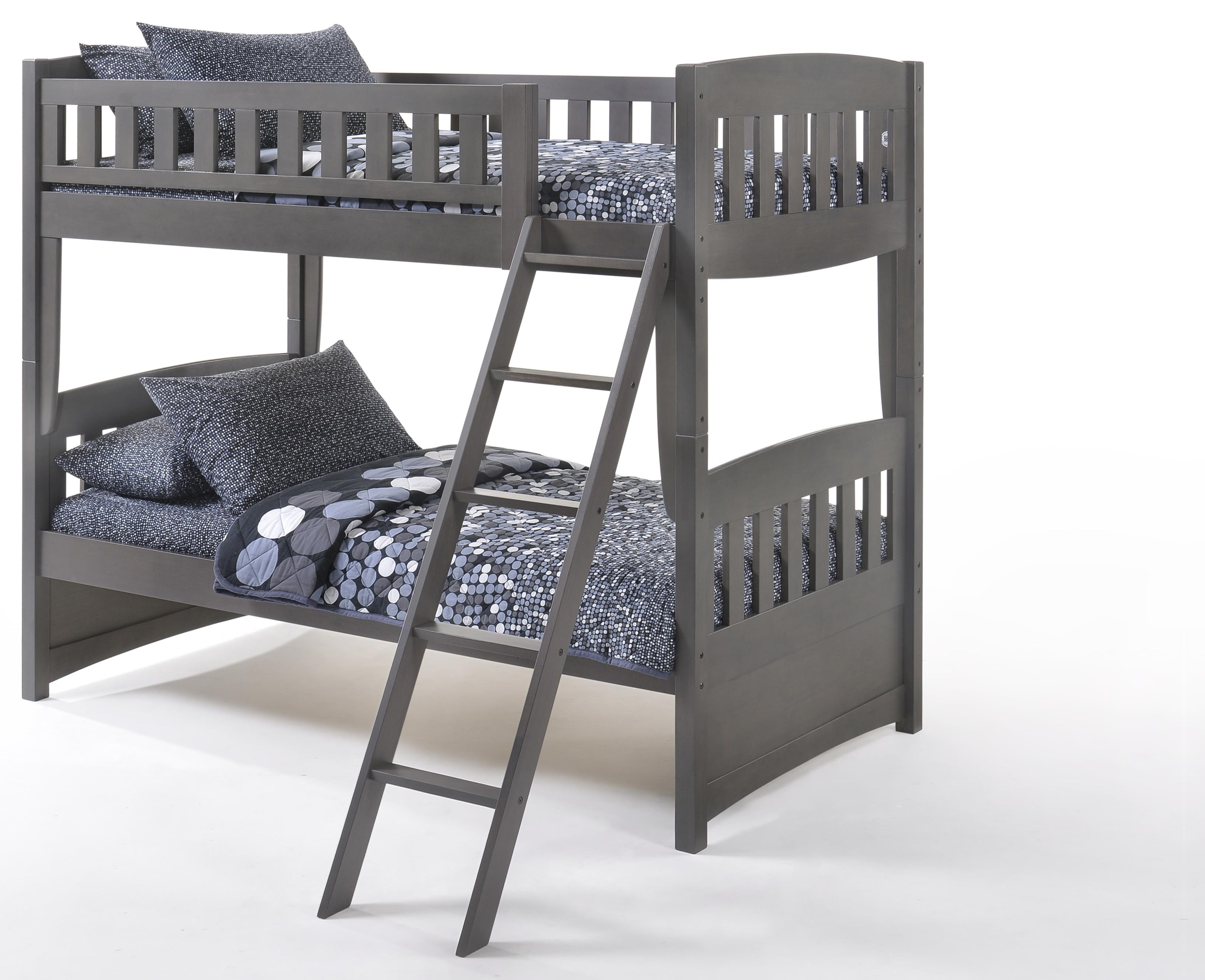 Spice Twin/Twin Bunkbed by Night & Day Furniture at HomeWorld Furniture