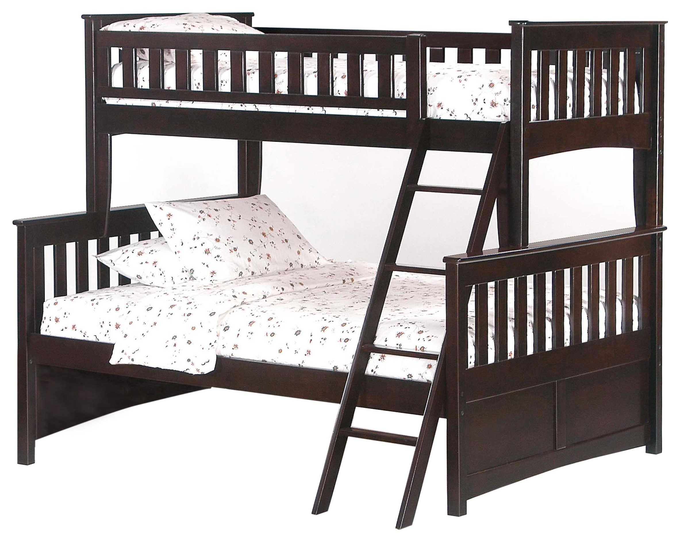 Spice Twin/Full Bunkbed by Night & Day Furniture at HomeWorld Furniture