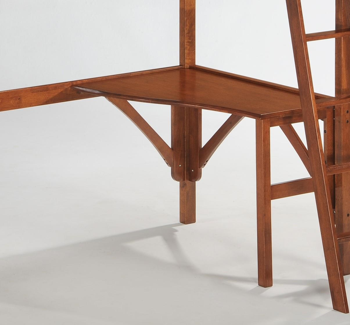Twin Curved Loft Desk