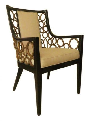C.S. Wo & Sons Ann Dining Arm Chair - Item Number: ANN26-14128