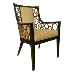 C.S. Wo & Sons Ann Dining Arm Chair