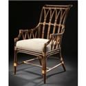 C.S. Wo & Sons Havana Dining Arm Chair - Item Number: ANN26-0322
