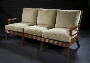 C.S. Wo & Sons Panama III Sofa - Item Number: PANAMA III SOFA W CUSHIONS PKG