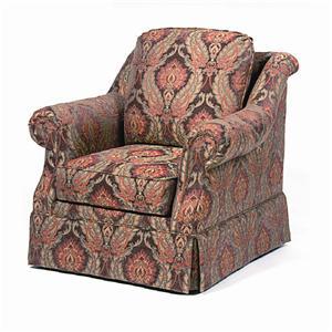 Paladin 1146 Skirted Upholstered Chair