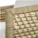 Palecek Accent Chairs by Palecek Capitola Woven Rattan and Lampakani Lounge Chair