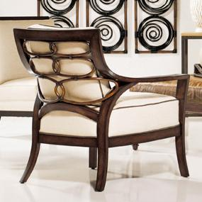 Accent Chairs by Palecek Georgio Lounge Chair by Palecek at Alison Craig Home Furnishings