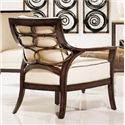 Palecek Accent Chairs by Palecek Georgio Lounge Chair - Item Number: 7932-83+8313-32