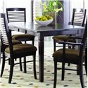 Palettes by Winesburg Romeo Customizable Dining Table - Item Number: 3648A1 L1EF
