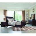 Palettes by Winesburg Adrienne PW King Bedroom Group  - Item Number: 304 K Bedroom Group 2