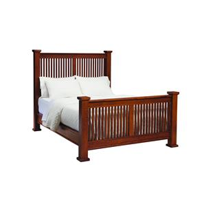 Palettes by Winesburg American Craftsman Queen Mission Bed
