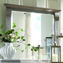 Palettes by Winesburg Bartletts Island Mirror - Item Number: 320-BAR13304